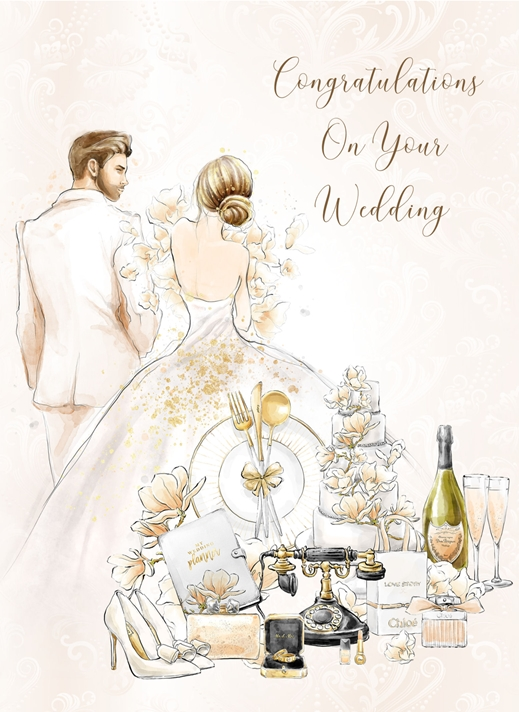 Snappy Designz Wedding Day Card  personalised online greeting card