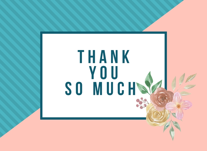 Her Nibs  Thank You   personalised online greeting card