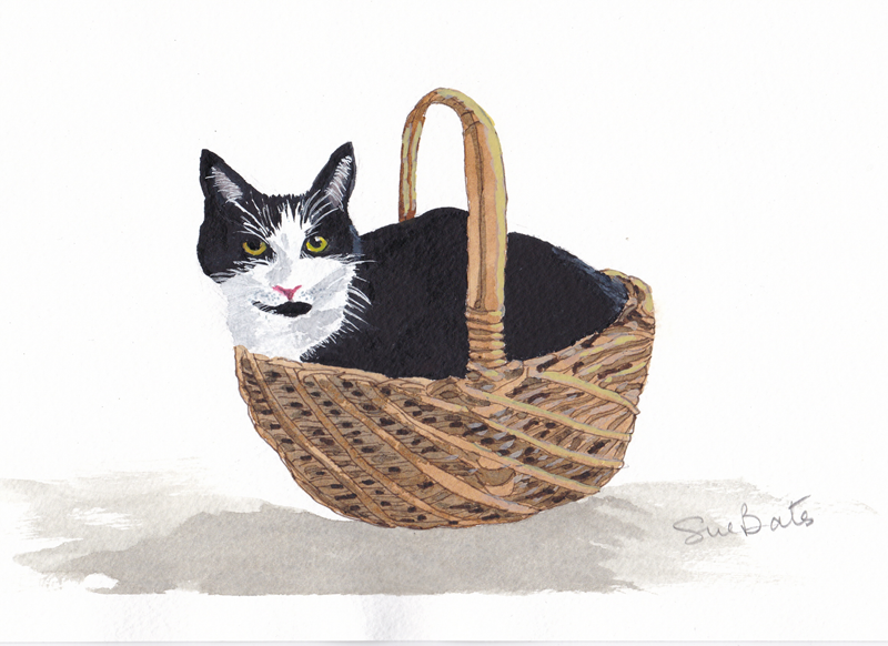 SJB Cards Truffle in a Basket  personalised online greeting card