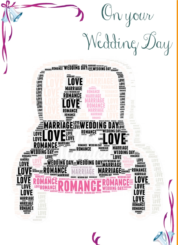 Wicked Creations Wedding Car Card   personalised online greeting card