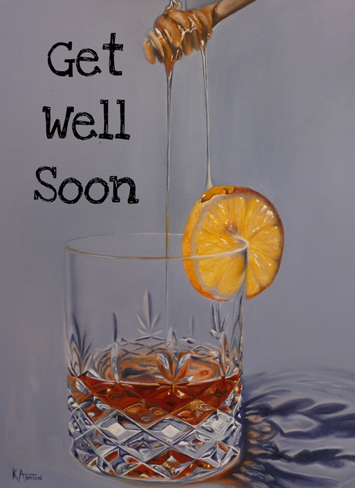 Kay Ashton Fine Art Hot Toddy  personalised online greeting card