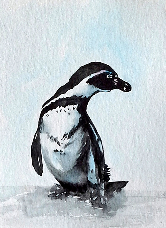 EmilyJane Penguin  personalised online greeting card