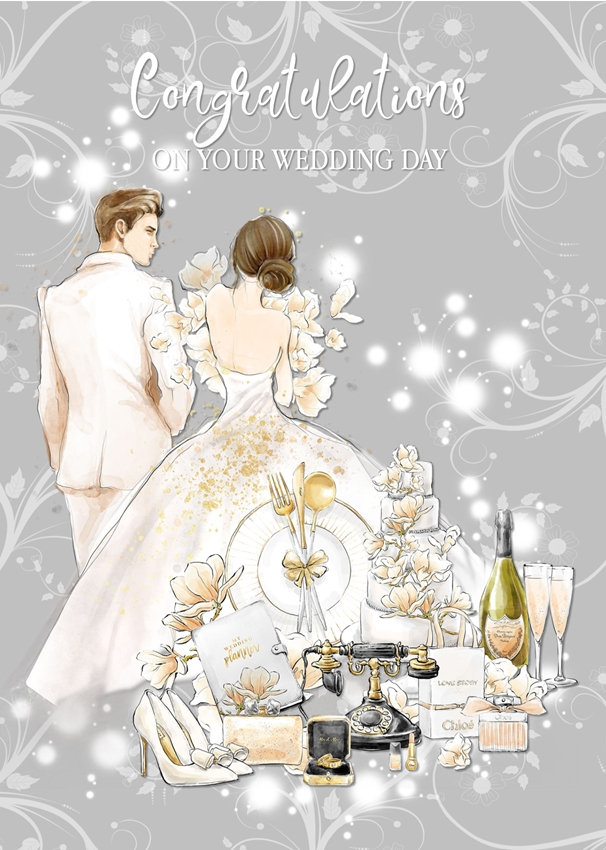Snappy Designz Wedding Card A5  personalised online greeting card