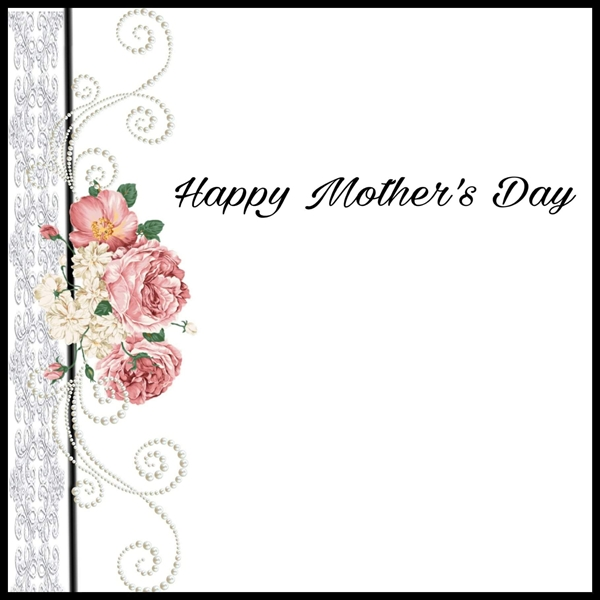 Elegant cards  Mothers day   personalised online greeting card