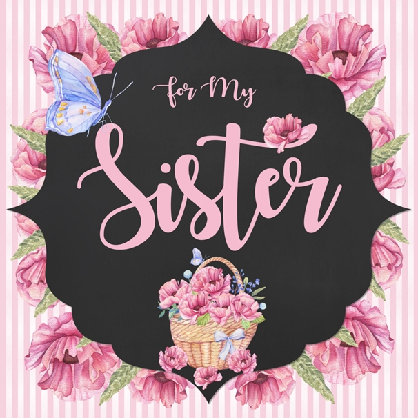 Snappy Designz Birthday Sister  personalised online greeting card