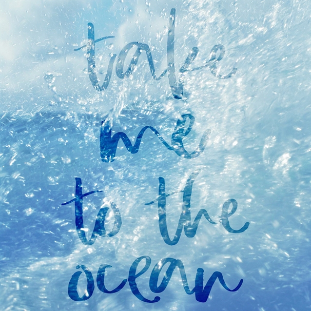 Mum's the Boss Take me to the Ocean  personalised online greeting card