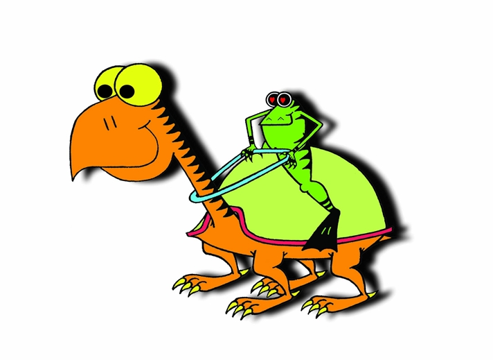 who's your froggie general  personalised online greeting card