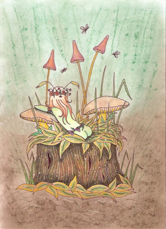 Tilly's Art Fairy Wishes  personalised online greeting card