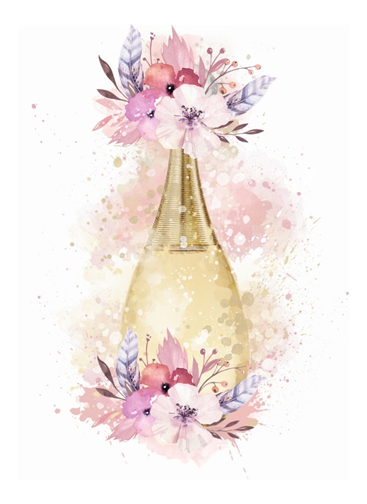 Snappy Designz Perfume Blank Card  personalised online greeting card