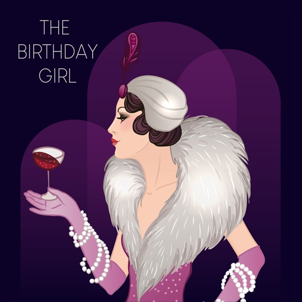 Snappy Designz The Birthday Girl  personalised online greeting card