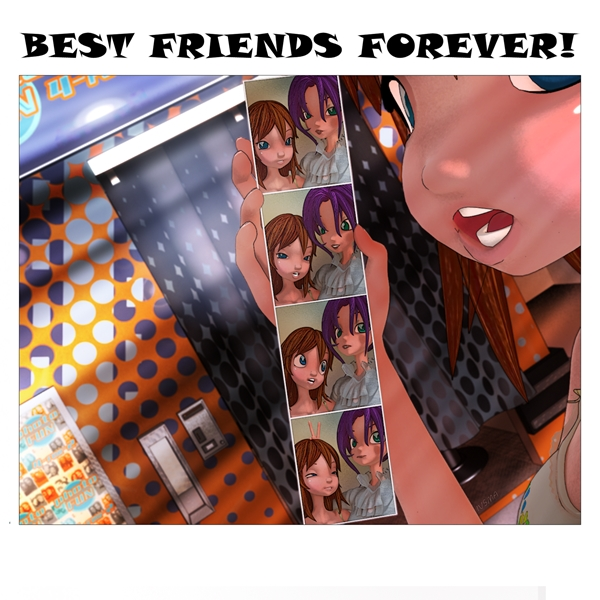 IVSMA BFF - Photo Booth  personalised online greeting card