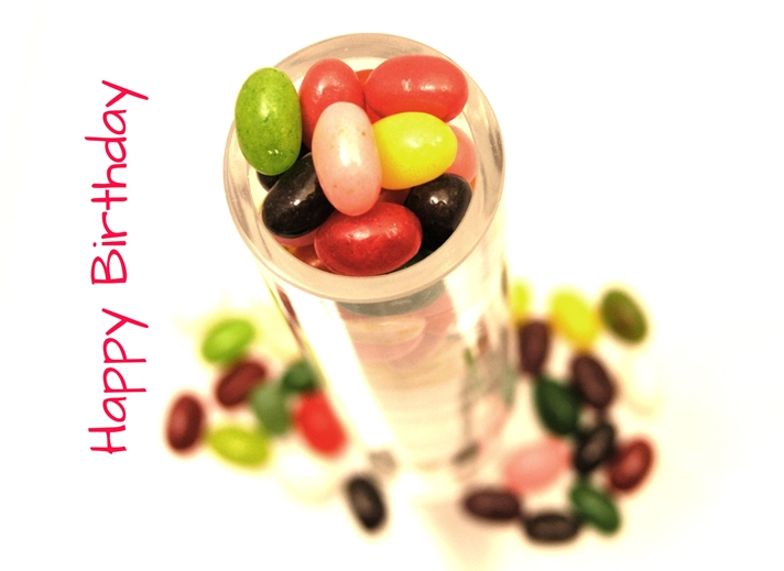 Carole Irving Art and Photography Jelly Beans  personalised online greeting card
