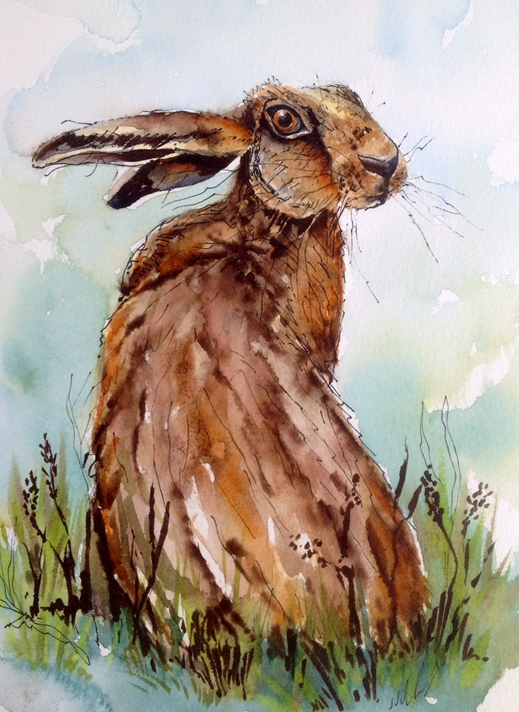 Art by Sheila O'Brien You looking at me?  personalised online greeting card