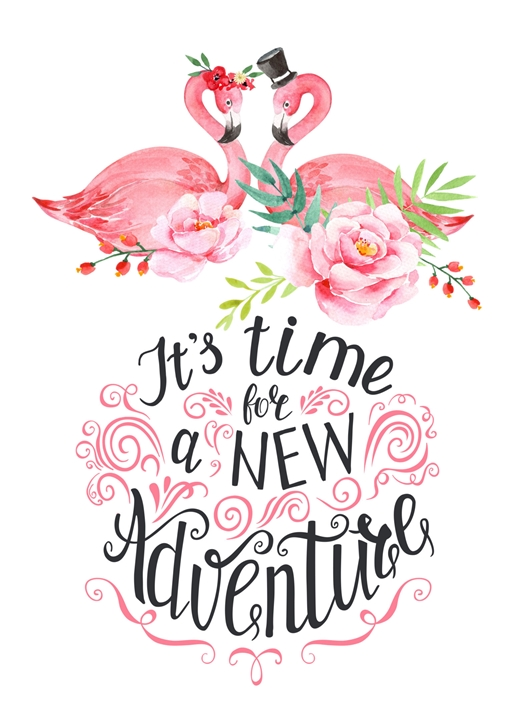 Snappy Designz Flamingo Wedding Card  personalised online greeting card