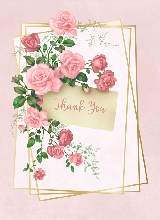 Snappy Designz Thank You Card  personalised online greeting card