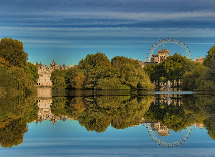 Kate Jaconello St James's Park  personalised online greeting card