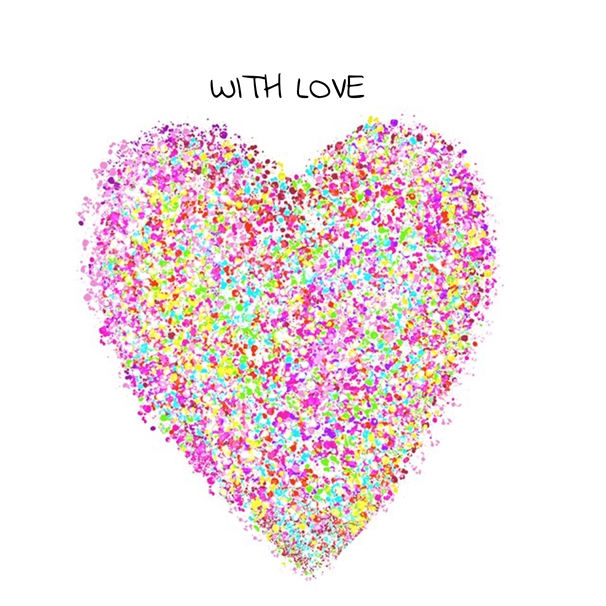 Carole Irving Art and Photography Love Heart  personalised online greeting card