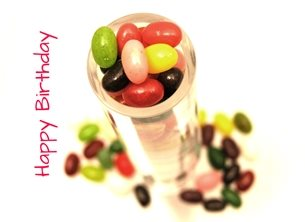 Carole Irving Art and Photography Jelly Beans Birthday jelly