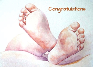 EmilyJane Congratulations Congratulations baby personalised online greeting card