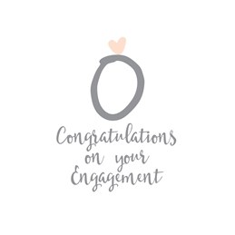Engagement Engagement Congratulations personalised online greeting card