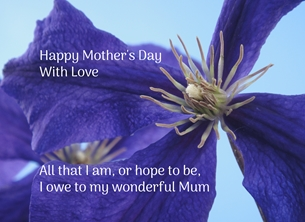 Mother's Day - Mum
