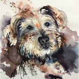 art Dogs personalised online greeting card