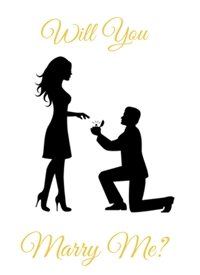 Proposal personalised online greeting card
