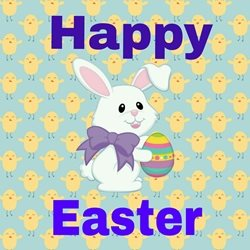 Easter Joyful, Occasion personalised online greeting card