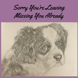 Leaving  , job, sorry, friend, work personalised online greeting card