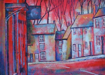 Mary Dodd Art Lower High Street Malmesbury art Lower High Street Malmesbury birthday painting artist abstract art card personalised online greeting card