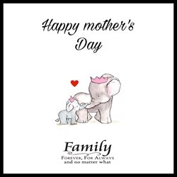 Mothers Mothers day , love , happy , occasion , family  personalised online greeting card