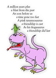who's your froggie friends General friends dinosaurs poem animals personalised online greeting card