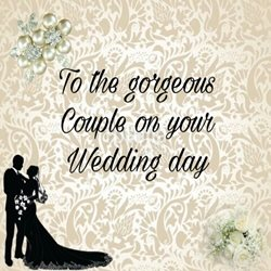 Wedding  love, couple z%a personalised online greeting card