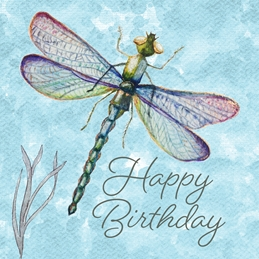 Dragonfly Happy Birthday