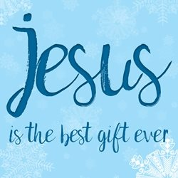 Joyful  Jesus is the best gift ever Christmas  Jesus is the best gift ever  greeting card made with love by raluca curcan who make money  christian meaningful z%a personalised online greeting card