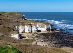 Photography general Photography, photographic, Coast, Sea, Cliffs, Flamborough, Yorkshire, general,  personalised online greeting card