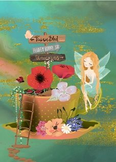 birthday fairy flowers magical personalised online greeting card