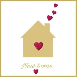 Home Congratulations,  family, beginnings,  personalised online greeting card