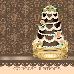 Wedding congratulations WEDDING celebration personalised online greeting card