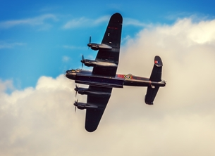 Photography for-him, son, brother, father, grandfather, husband, father's day, birthday, raf, raf100, Lancaster, bomber, aeroplane, airplane, aircraft, plane, planes personalised online greeting card