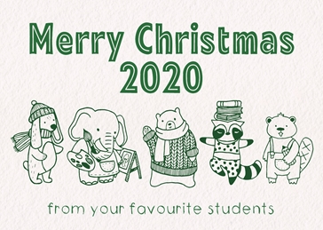 Christmas Card For Teachers