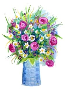 Carole Irving Art and Photography July Art vase