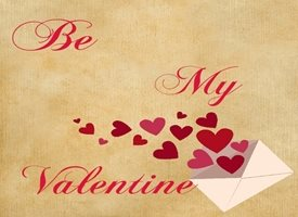 Animal welfare auctions Be my valentine Valentine Romance love personalised online greeting card