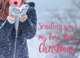 Christmas sending you my love this  greeting card made with  by raluca curcan  who make money   z%a personalised online greeting card
