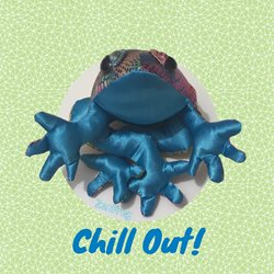 general ZenFrog relax chill happy green z%a personalised online greeting card