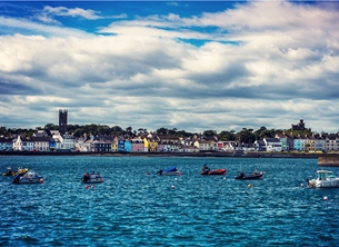 NorthLight Photo-Art Donaghadee harbour andbc, Donaghadee, Bangor, ^Northern Ireland^ personalised online greeting card
