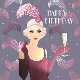Art Deco Birthday