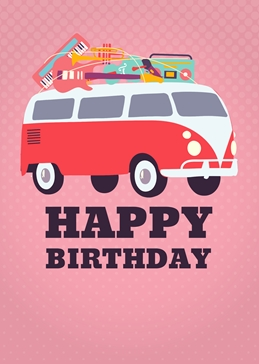 Happy Birthday Van Music