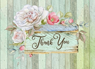 Thank Floral, For-Her, Window Box, Roses, For-Him personalised online greeting card