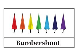 General  umbrella rainbow fun personalised online greeting card